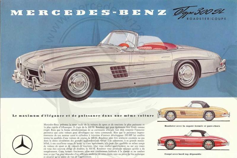 Prospectus de 1959 de la  mythique 300 SL 300_sl19