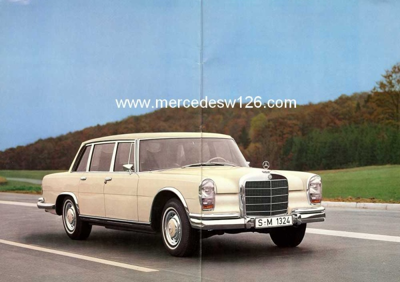 Catalogue de 1971 sur la Mercedes W100 600 (français) 600_1911