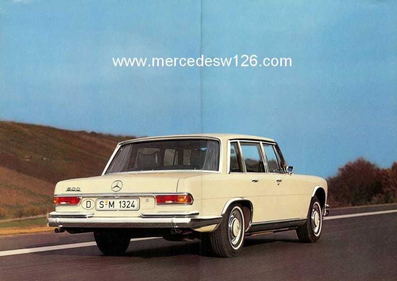 Catalogue de 1971 sur la Mercedes W100 600 (français) 600_1912