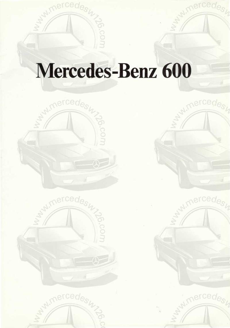 Catalogue de 1971 sur la Mercedes W100 600 (français) 600_1913