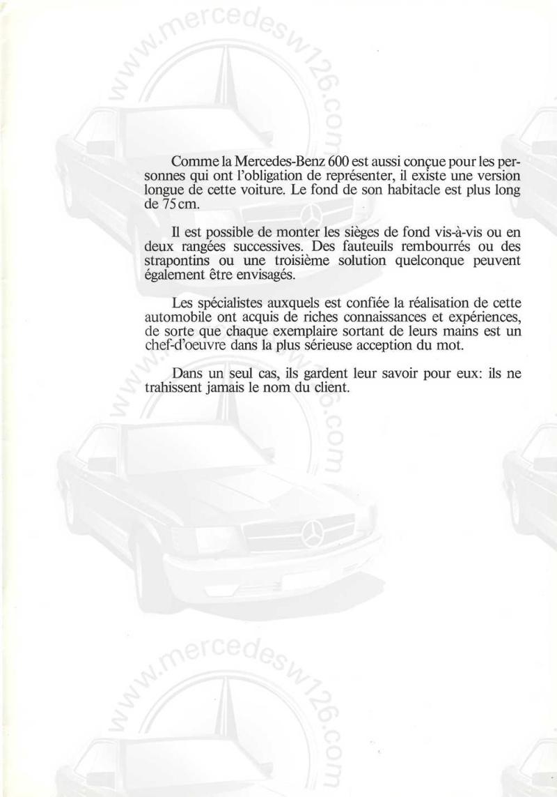 Catalogue de 1971 sur la Mercedes W100 600 (français) 600_1927