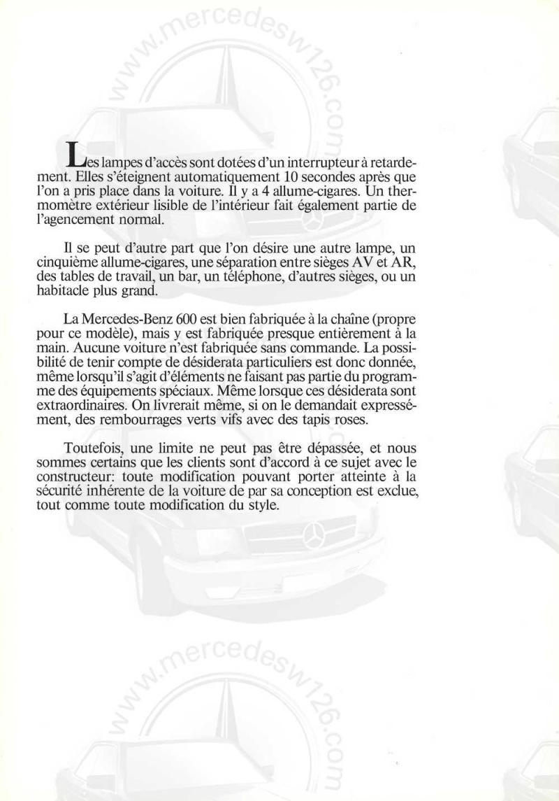 Catalogue de 1971 sur la Mercedes W100 600 (français) 600_1929