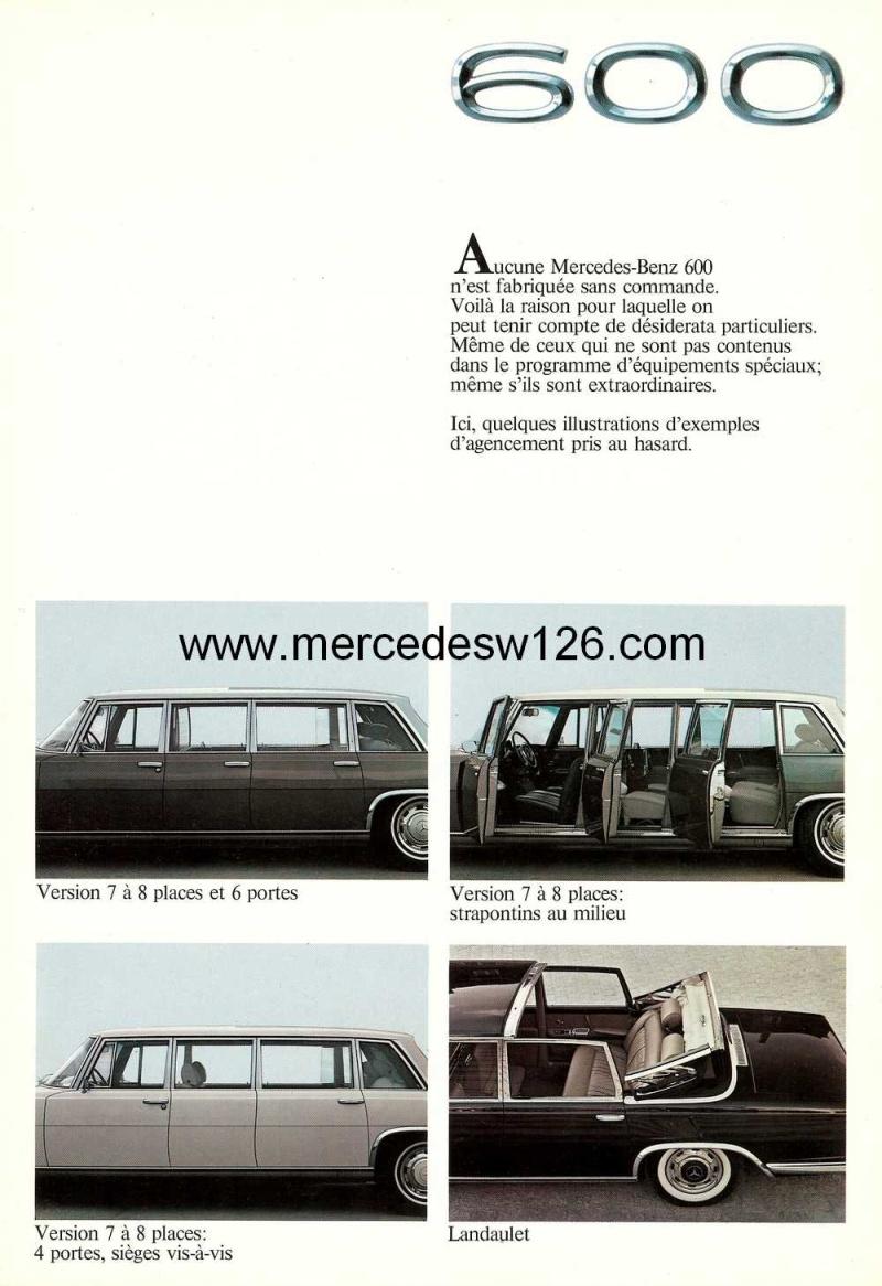Catalogue de 1971 sur la Mercedes W100 600 (français) 600_1931