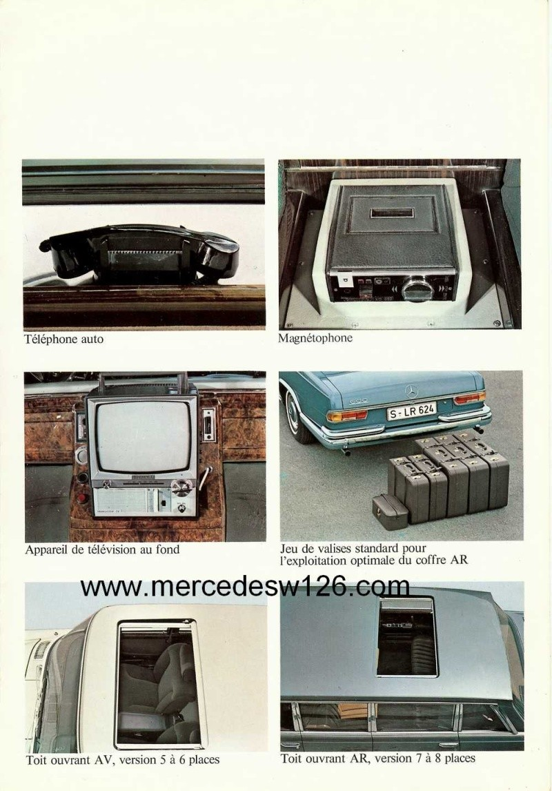 Catalogue de 1971 sur la Mercedes W100 600 (français) 600_1934