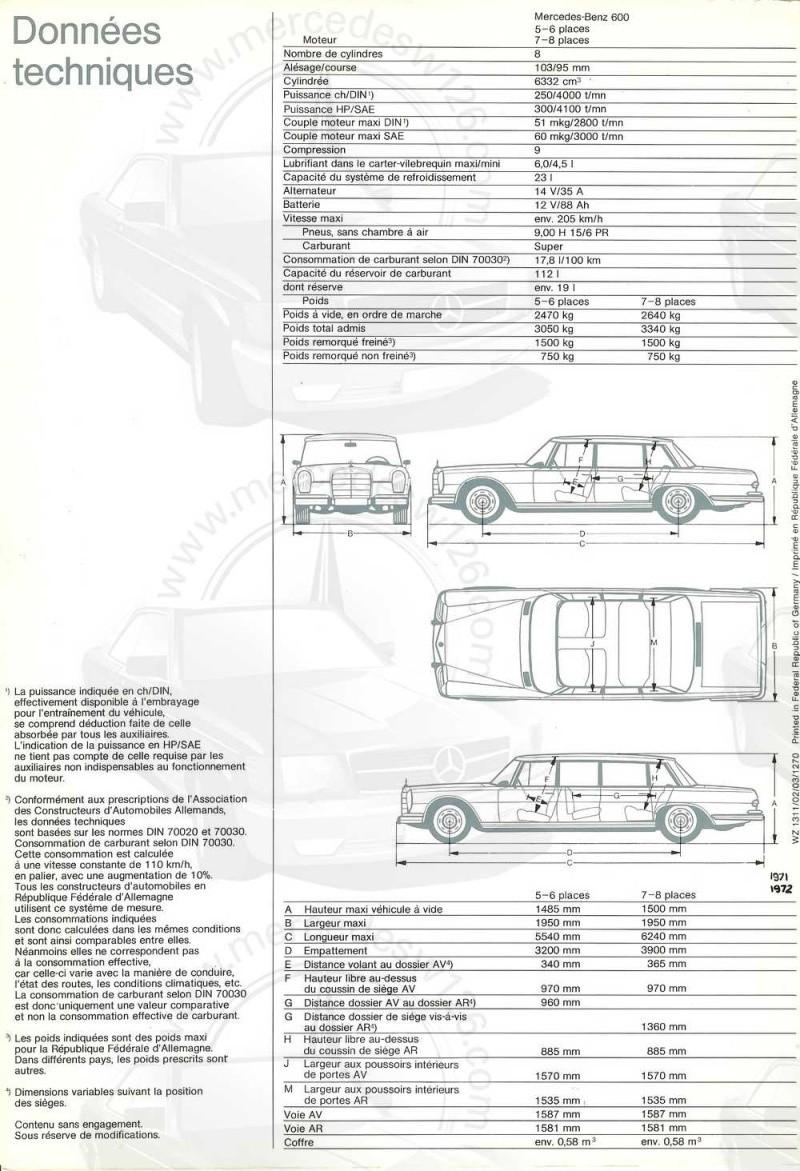 Catalogue de 1971 sur la Mercedes W100 600 (français) 600_1935
