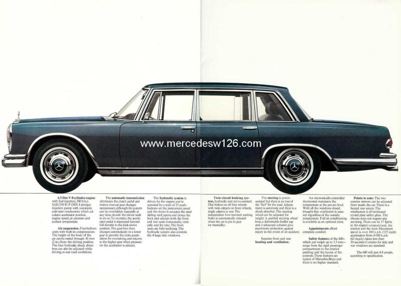 Catalogue de 1971 sur la Mercedes W100 600 (anglais) 600_1946