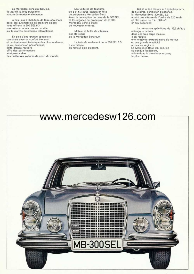 Catalogue de 1967 sur la Mercedes W109 300 SEL 6.3 6l3_1911