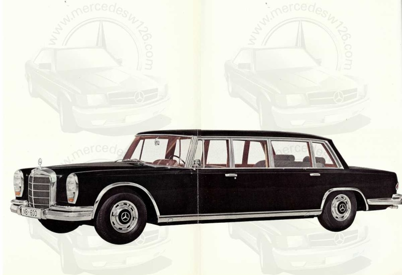 Un autre catalogue de 1965 sur la Mercedes 600 W100 Catalo10