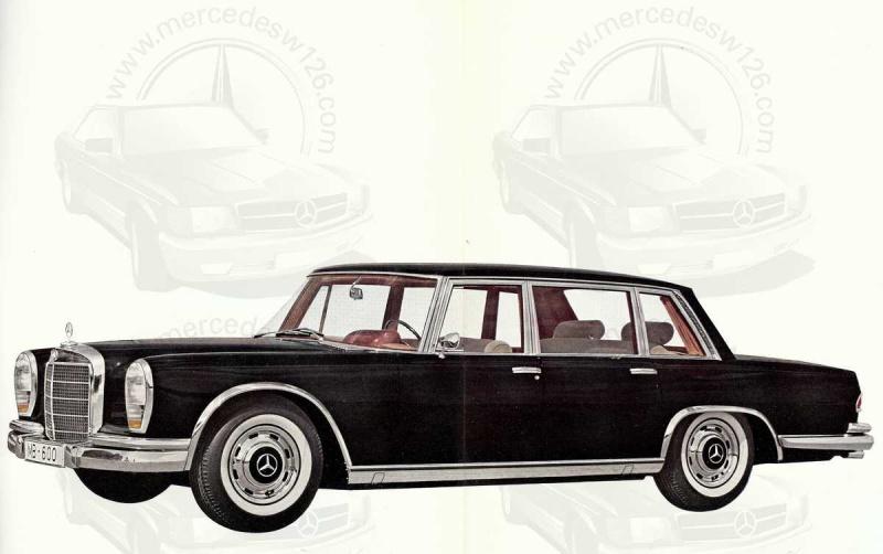 Un autre catalogue de 1965 sur la Mercedes 600 W100 Catalo11