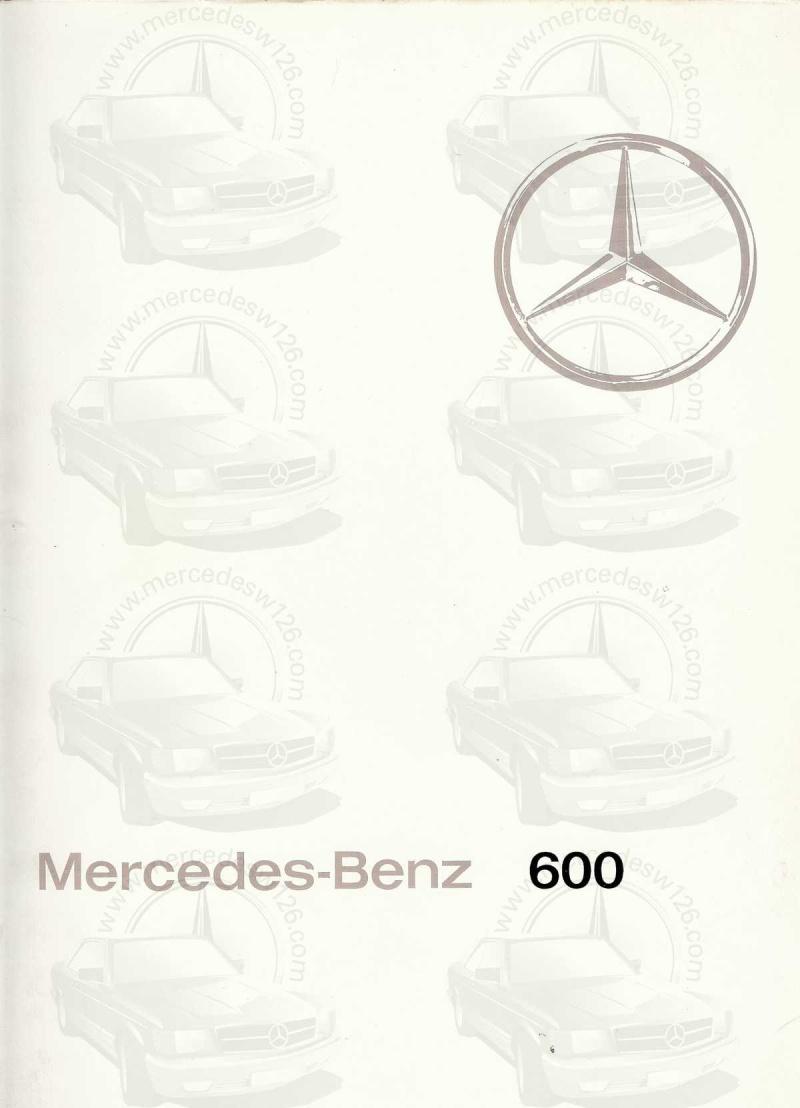 Un autre catalogue de 1965 sur la Mercedes 600 W100 Catalo12