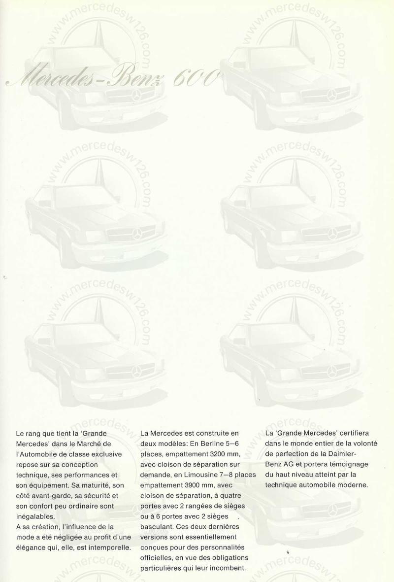 Un autre catalogue de 1965 sur la Mercedes 600 W100 Catalo13