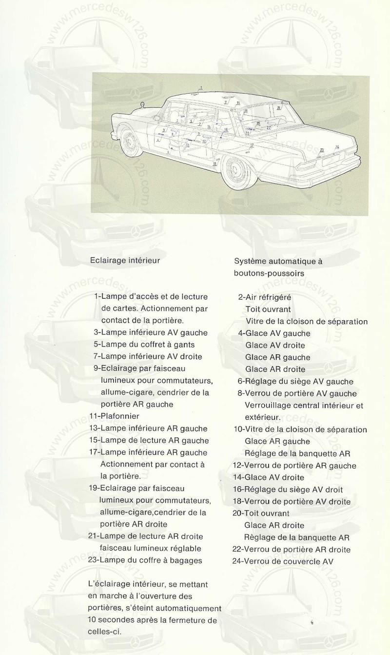 Un autre catalogue de 1965 sur la Mercedes 600 W100 Catalo16