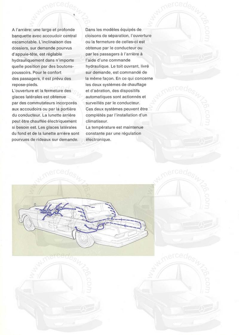 Un autre catalogue de 1965 sur la Mercedes 600 W100 Catalo17