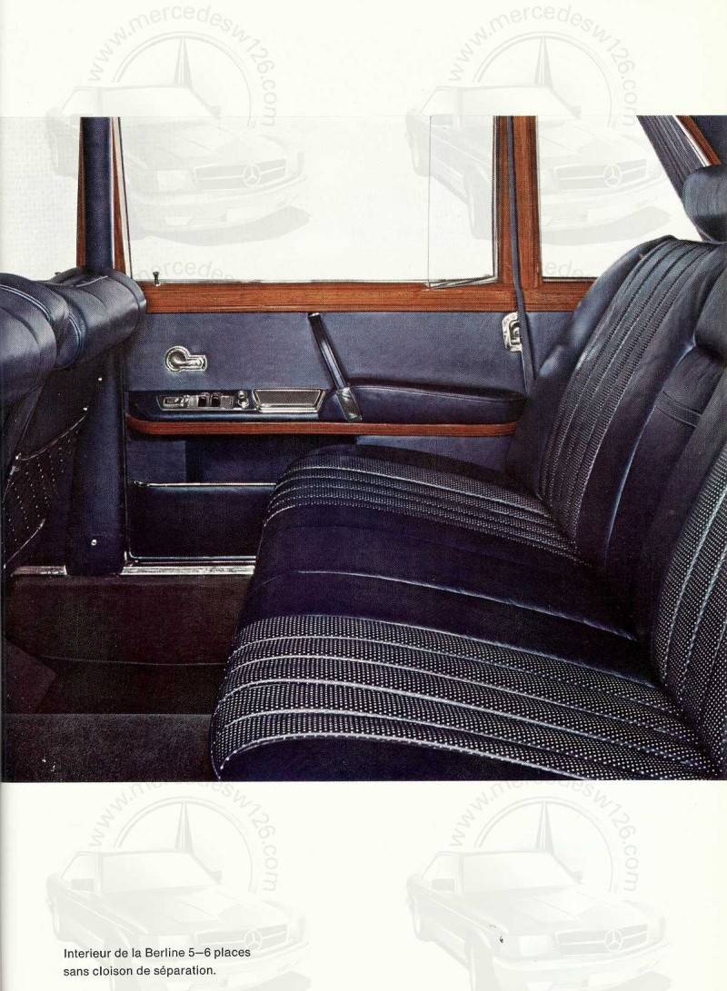 Un autre catalogue de 1965 sur la Mercedes 600 W100 Catalo18