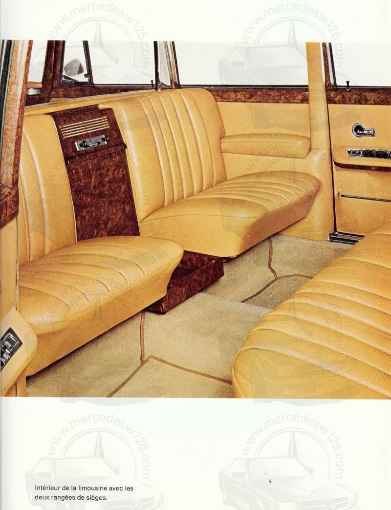 Un autre catalogue de 1965 sur la Mercedes 600 W100 Catalo21