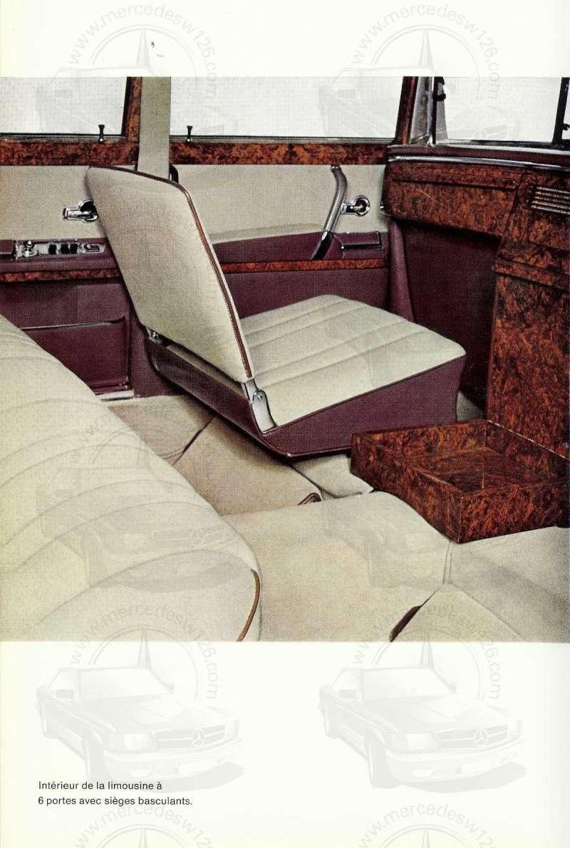 Un autre catalogue de 1965 sur la Mercedes 600 W100 Catalo22