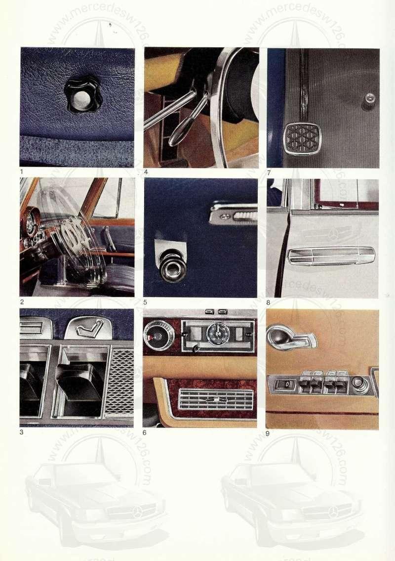 Un autre catalogue de 1965 sur la Mercedes 600 W100 Catalo23
