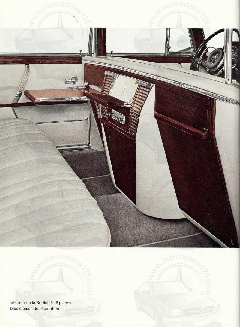 Un autre catalogue de 1965 sur la Mercedes 600 W100 Catalo24