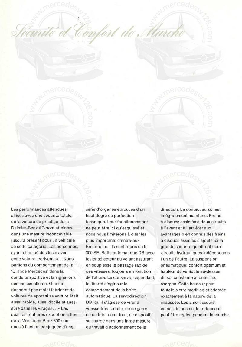 Un autre catalogue de 1965 sur la Mercedes 600 W100 Catalo26