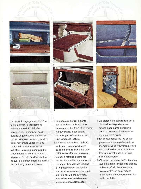 Un autre catalogue de 1965 sur la Mercedes 600 W100 Catalo27