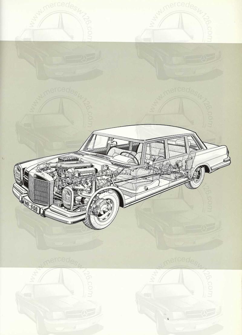 Un autre catalogue de 1965 sur la Mercedes 600 W100 Catalo28