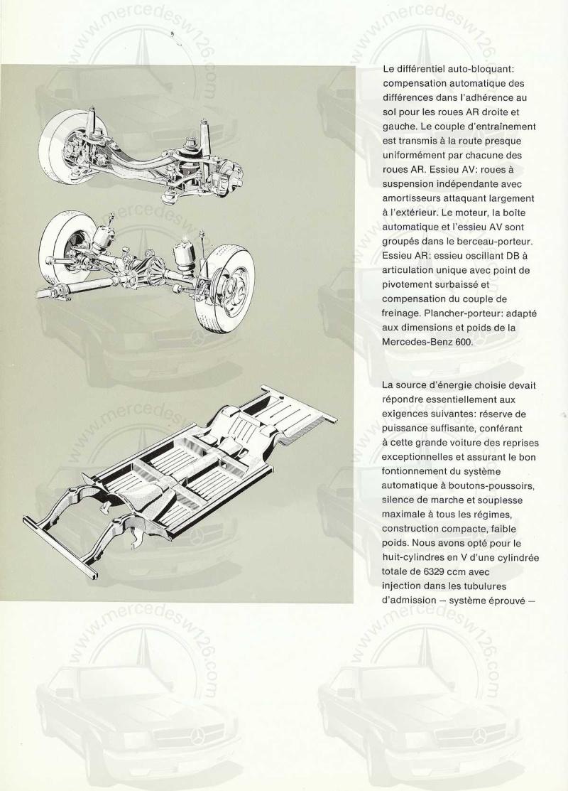 Un autre catalogue de 1965 sur la Mercedes 600 W100 Catalo29