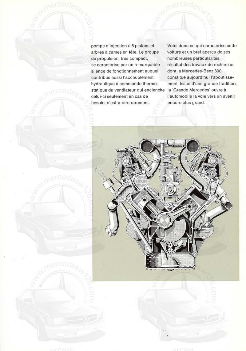 Un autre catalogue de 1965 sur la Mercedes 600 W100 Catalo30