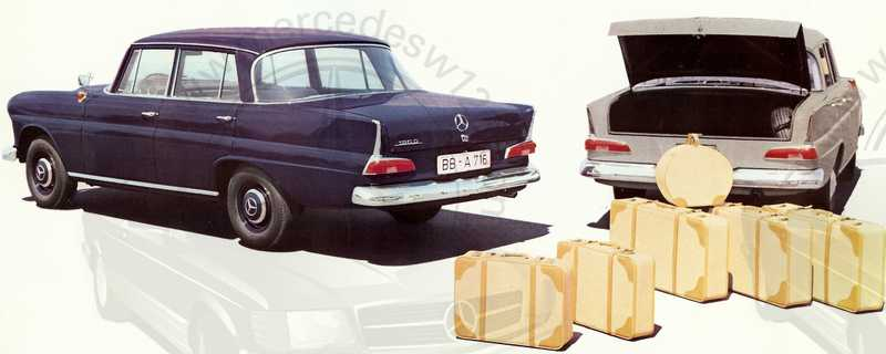 Catalogue de 1961 sur les Mercedes W110 190 & 190 D Catalo41