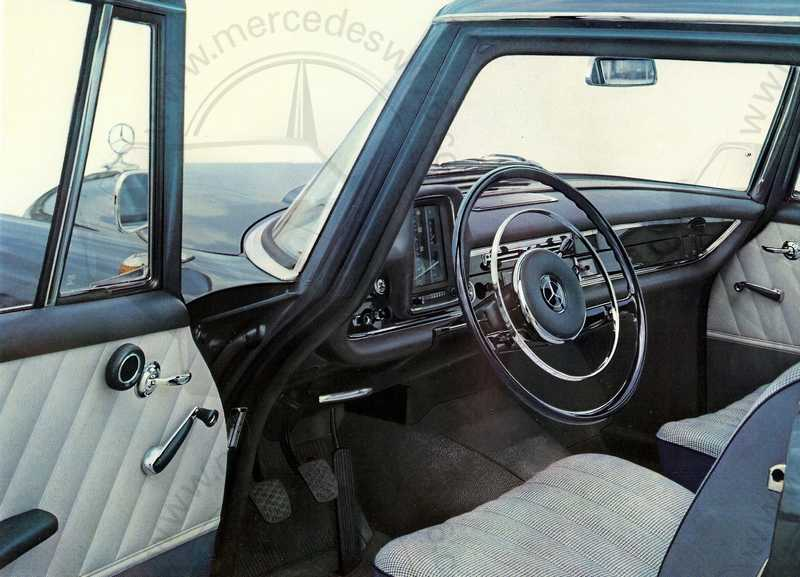 Catalogue de 1961 sur les Mercedes W110 190 & 190 D Catalo47