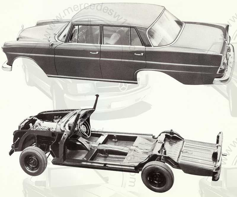 Catalogue de 1961 sur les Mercedes W110 190 & 190 D Catalo54