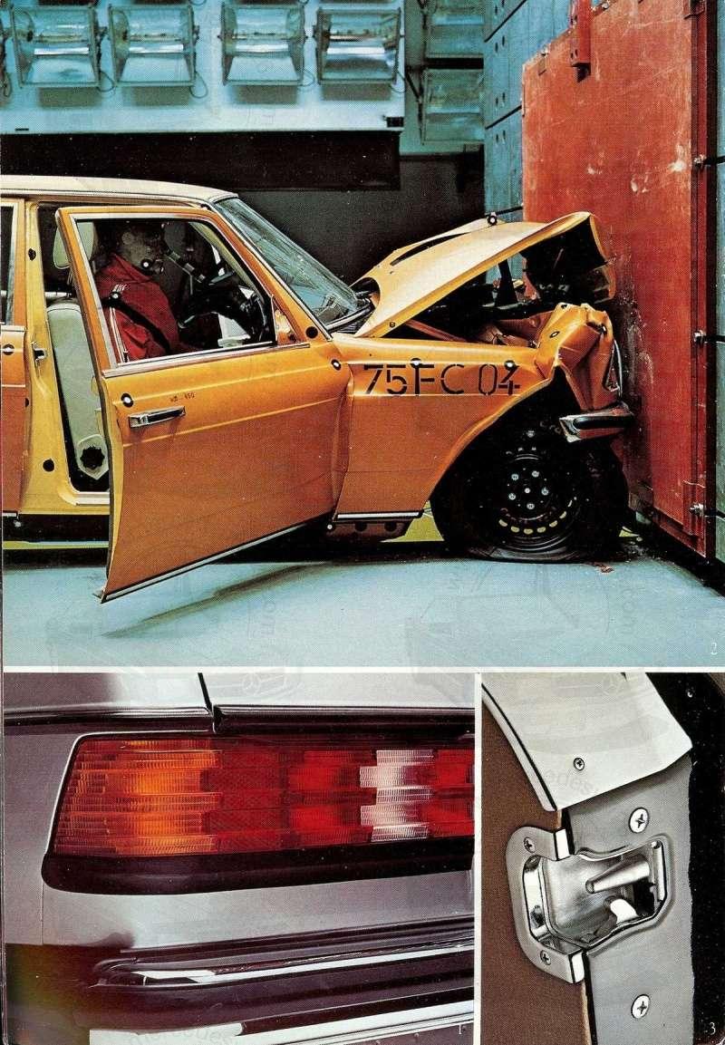 Mercedes, L'esprit de synthèse. (W123) Esprit16