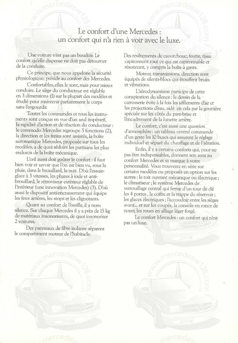 Mercedes, L'esprit de synthèse. (W123) Esprit18