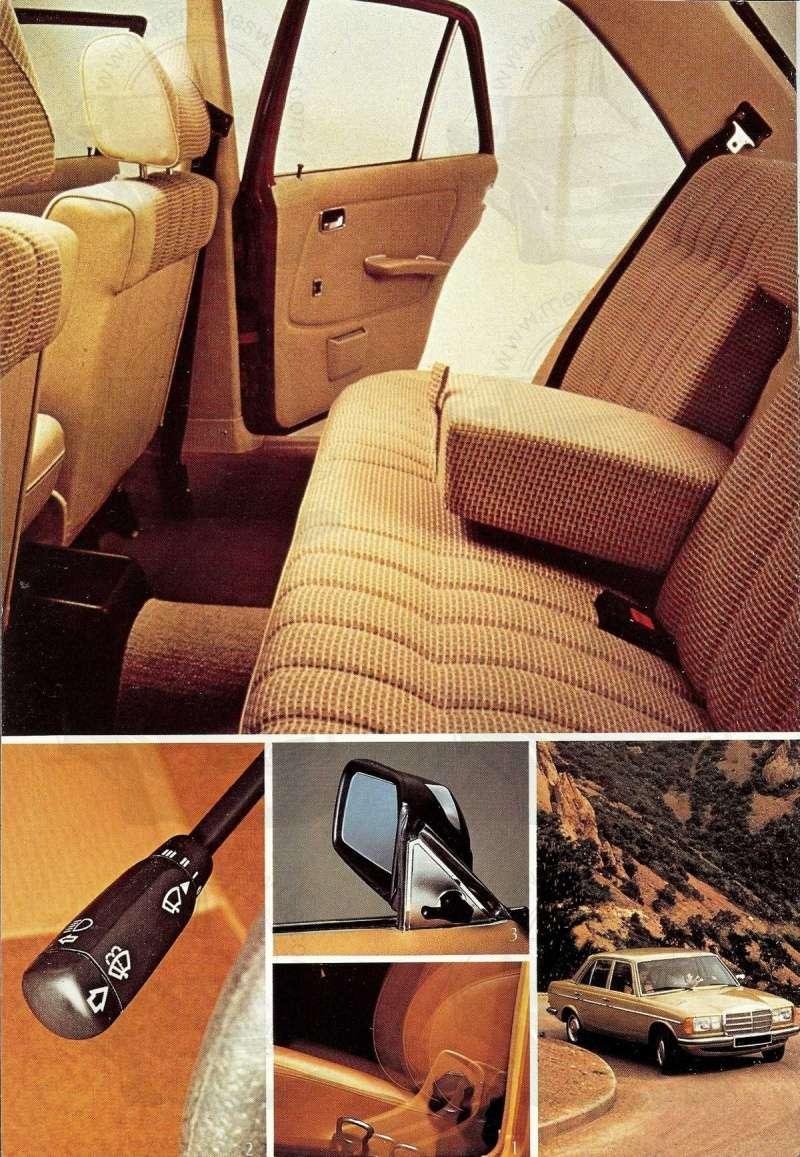Mercedes, L'esprit de synthèse. (W123) Esprit20