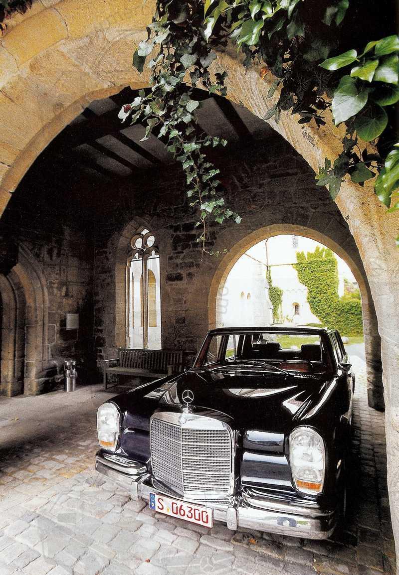 Rétroviseur 08/2003: Mercedes 600 Mb_60013