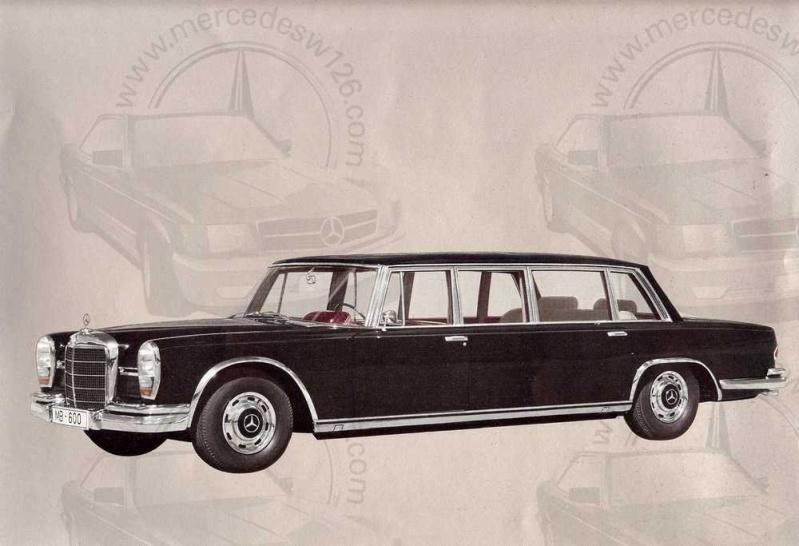Catalogue de 1965 sur la Mercedes 600 W100 Merced11