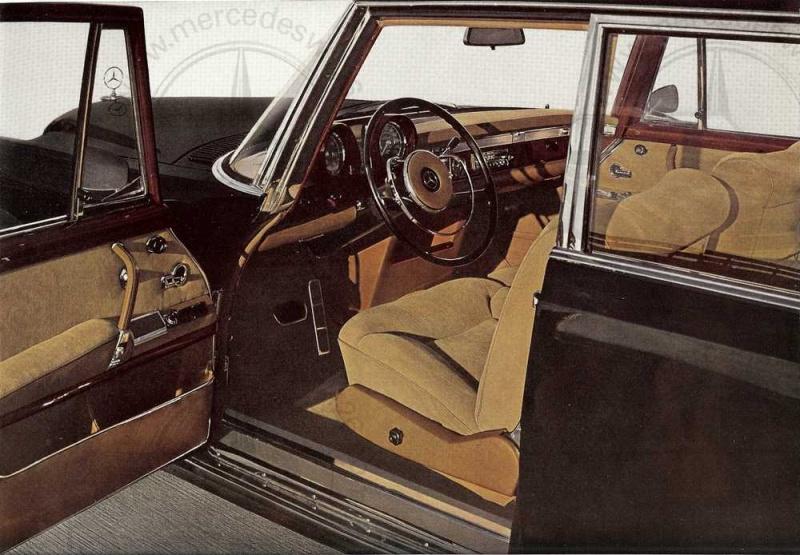 Catalogue de 1965 sur la Mercedes 600 W100 Merced12