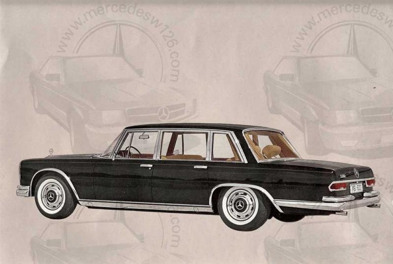 Catalogue de 1965 sur la Mercedes 600 W100 Merced14