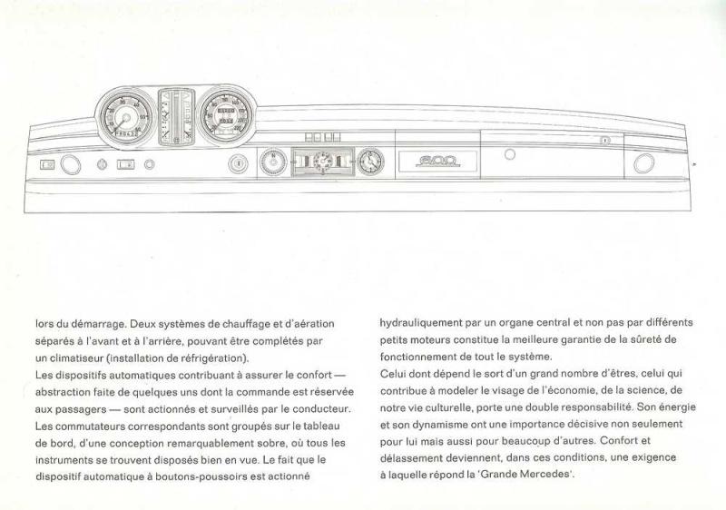 Catalogue de 1965 sur la Mercedes 600 W100 Merced17