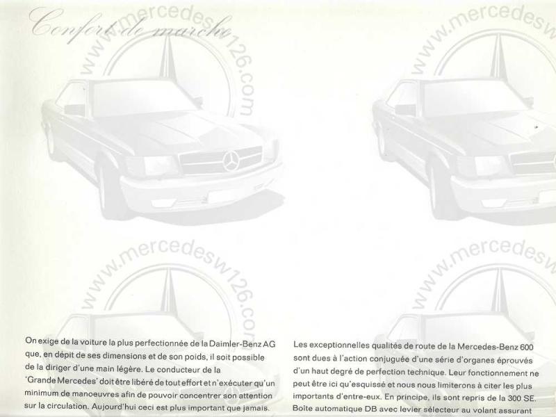 Catalogue de 1965 sur la Mercedes 600 W100 Merced20