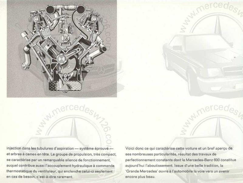 Catalogue de 1965 sur la Mercedes 600 W100 Merced23