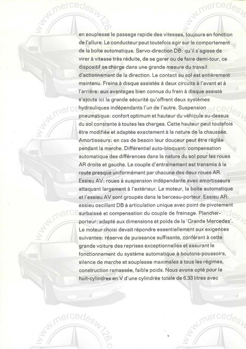 Catalogue de 1965 sur la Mercedes 600 W100 Merced26