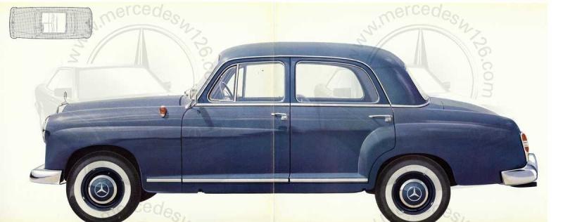 """Catalogue de 1959 sur la Mercedes w121 190 D """"Ponton"""" Ponton29"""