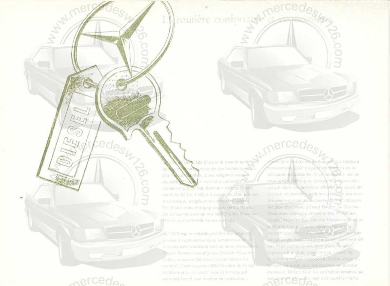 """Catalogue de 1959 sur la Mercedes w121 190 D """"Ponton"""" Ponton30"""