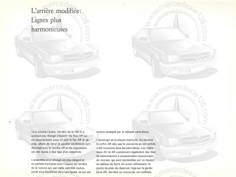 """Catalogue de 1959 sur la Mercedes w121 190 D """"Ponton"""" Ponton32"""