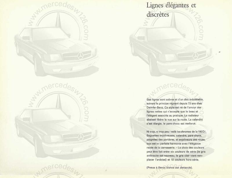 """Catalogue de 1959 sur la Mercedes w121 190 D """"Ponton"""" Ponton33"""