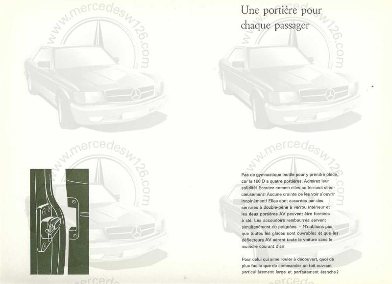 """Catalogue de 1959 sur la Mercedes w121 190 D """"Ponton"""" Ponton38"""