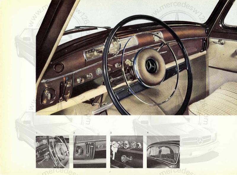 """Catalogue de 1959 sur la Mercedes w121 190 D """"Ponton"""" Ponton39"""