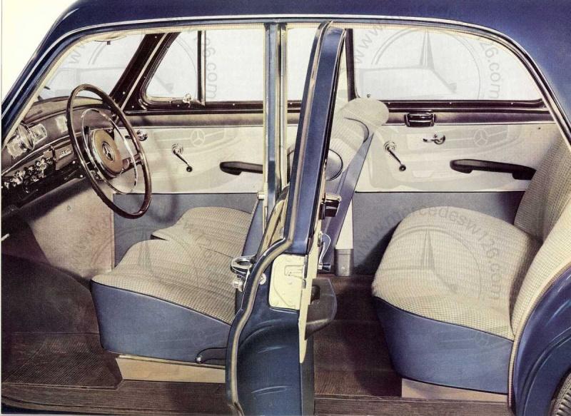 """Catalogue de 1959 sur la Mercedes w121 190 D """"Ponton"""" Ponton40"""