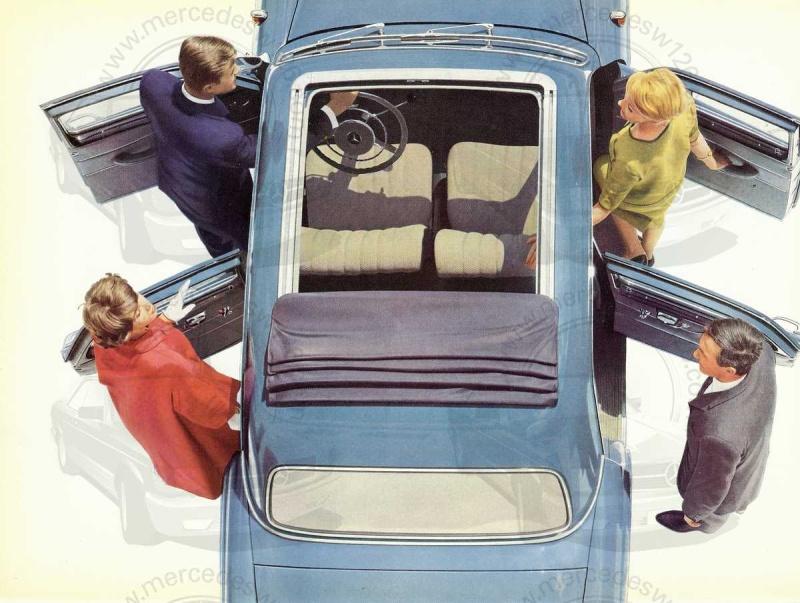 """Catalogue de 1959 sur la Mercedes w121 190 D """"Ponton"""" Ponton41"""