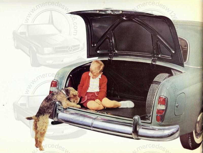 """Catalogue de 1959 sur la Mercedes w121 190 D """"Ponton"""" Ponton42"""